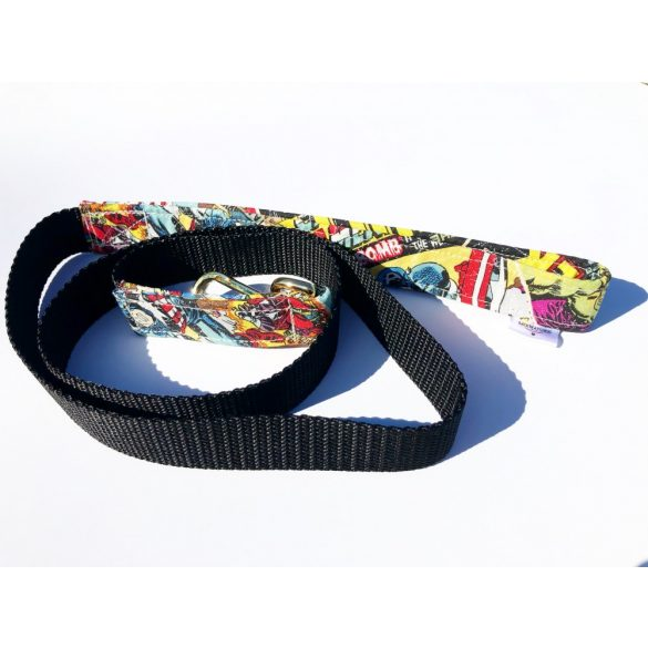 Hôsös anyag póráz, Hero fabric leash