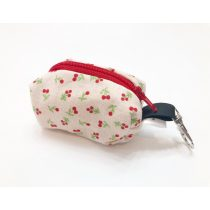 Fabric small cherry poop bag holder