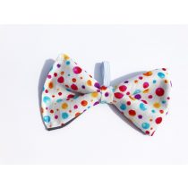 Fabric dotted bow