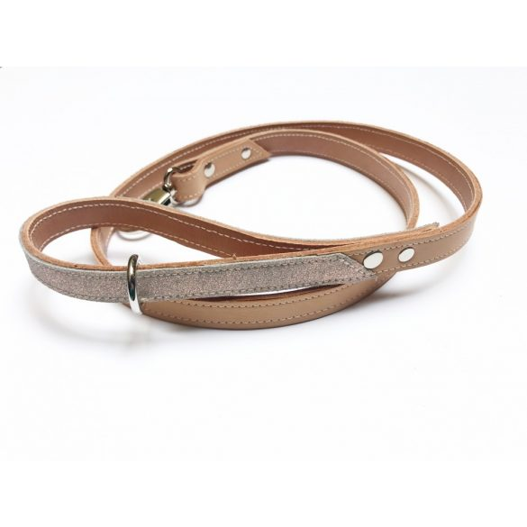 Tavaszi kollekció, sellő bőr póráz- Spring collection, mermaid leather leash