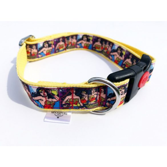 Super hôsnô  állítható anyag nyakörv - super hero woman adjustable fabric collar