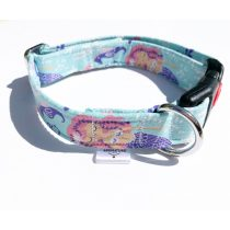 Mermaid fabric collar